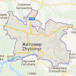 map zhitomir